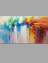 preiswerte -Handgemalte Abstrakt Landschaft Horizontal, Modern Segeltuch Hang-Ölgemälde Haus Dekoration Ein Panel