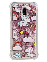 cheap -Case For Samsung Galaxy J7 (2017) J5 (2017) Shockproof Flowing Liquid Pattern Back Cover Unicorn Soft TPU for J7 (2017) J7 (2016) J7 J5