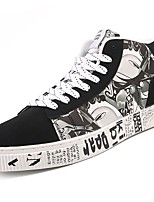 cheap -Shoes PU Spring Fall Light Up Shoes Comfort Sneakers for Casual Brown Black/White Black/Red