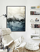 cheap -Landscape Oil Painting Wall Art,Alloy Material With Frame For Home Decoration Frame Art Indoor