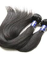 abordables -Peruvian vierge cheveux humains faisceaux soie droite 2 pièces 200g lot en vente bonne 9a qualité qualité péruvienne remy cheveux humains