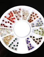 baratos -Ornamentos Paetês Brilhante Acessório da ferramenta DIY Art DIY Multi-Côr Nail Art Design