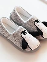 Недорогие -Удобная обувь Тапочки-мокасины Женские тапочки Хлопок Хлопок