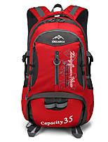 Недорогие -20-35 L Походные рюкзаки рюкзак Пешеходный туризм На открытом воздухе Прогулки Пригодно для носки Альпинизм Нейлон