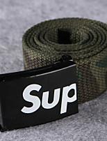 cheap -Men's Casual Fabric Waist Belt