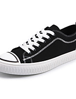 cheap -Men's Shoes Canvas Spring Fall Comfort Sneakers for Casual Black/White Black/Red Black/Yellow