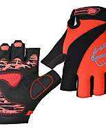 cheap -Sports Gloves Sports Gloves Bike Gloves / Cycling Gloves Waterproof Wearable Anti-Shock Skidproof Fingerless Gloves Lycra Mountain