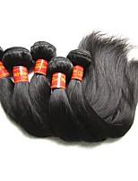 Недорогие -оптовые 9a малайзийские виргинские волосы шелк прямые 5 пакетиков 500 г малайзийские remy наращивания человеческих волос ткут естественный