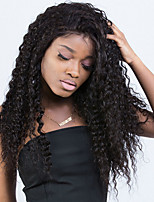 cheap -Lace Front Human Hair Wigs For Black Women 250% Density Malaysian Curly Remy Hair Sunny Queen Hair 14-24inch Natural Black