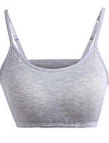 cheap -Women's Going out Street chic Tank Top,Solid Strap Sleeveless Polyester