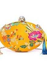 preiswerte -Damen Taschen Seide Abendtasche Kristall Verzierung Stickerei Quaste für Hochzeit Veranstaltung / Fest Alle Jahreszeiten Blau Schwarz
