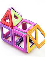 preiswerte -Magnetische Bauklötze Spielzeuge Quadratisch Transformierbar Weicher Kunststoff 40 Stücke