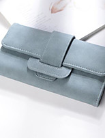 cheap -Women Bags PU Clutch Zipper for Casual All Season Gray Blushing Pink Black Green Blue