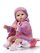 cheap -NPK DOLL Reborn Doll Fashion Baby 40cm Vinyl lifelike Cute Child Safe Parent-Child Interaction Exquisite Lovely Non Toxic All