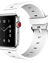 cheap -Watch Band for Apple Watch Series 3 / 2 / 1 Apple Wrist Strap Sport Band Classic Buckle Silicone