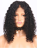 cheap -2018 New Style Brazilian Human Hair Kinky Curly Lace Front Wig Human Hair  Natural Hair Full Lace Wigs For Woman With Baby Hair On Sale