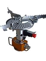 Недорогие -Походная горелка Походная плита Все для приготовления пищи на улице Чехол в комплекте Нержавеющая сталь Металл для Походы