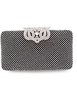 cheap -Women's Bags Glasses Metal Clutch Sequin for Event/Party Shopping All Seasons Gold Black Silver