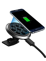 cheap -Car Charger Wireless Charger Phone USB Charger USB Wireless Charger Qi 1 USB Port 1A DC 5V iPhone X iPhone 8 Plus iPhone 8 S8 Plus S8 S7