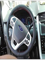 Недорогие -автомобильные крышки рулевого колеса (кожа) для универсальной общей подвески двигателей ford подходят для модели кнопок