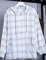 cheap -Women's Cotton Shirt - Check