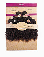 cheap -Brazilian Virgin Hair Kinky Curly Human Hair Weaves 1pc 1 piece 0.125