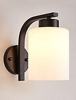 cheap -Matte Eye Protection Simple Wall Lamps & Sconces For Living Room Metal Wall Light 220V 7W