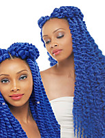 cheap -Havana Twist Braids Hair Braid Havana mambo twist Crochet Ombre Synthetic Braiding Hair Crochet Braids Heat resistant fiber