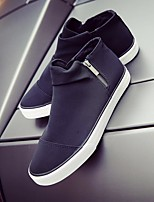 cheap -Men's Shoes Canvas Spring Fall Comfort Sneakers for Casual Black