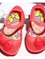 cheap -Girls' Shoes PVC Leather Spring Summer Comfort Sandals for Casual Pink Green Peach