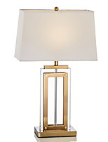 cheap -Metallic Decorative Table Lamp For Bedroom Glass 220V