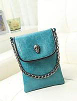 cheap -Women's Bags PU Shoulder Bag Pockets for Casual Summer Royal Blue Dark Green Black
