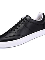 cheap -Men's Shoes PU Spring Fall Comfort Sneakers for Outdoor White Black Green