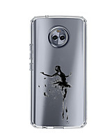 economico -Custodia Per Motorola E4 Plus Fantasia/disegno Custodia posteriore Sexy Morbido TPU per Moto X4 Moto E4 Plus Moto E4