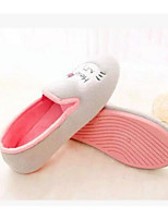 cheap -Women's Shoes Fabric Spring Fall Comfort Slippers & Flip-Flops Low Heel for Casual Gray Pink
