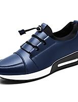 abordables -Homme Chaussures Similicuir Printemps Automne Confort Mocassins et Chaussons+D6148 pour Décontracté Noir Bleu de minuit Gris