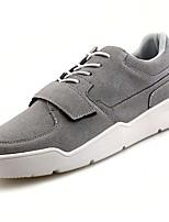 Недорогие -обувь Искусственное волокно Зима Осень Удобная обувь Кеды для Атлетический Черный Серый Красный