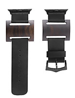 cheap -Watch Band for Apple Watch Series 3 / 2 / 1 Apple Wrist Strap Modern Buckle Leather Wood