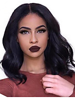 cheap -Short Body  Wave  Lace Front Wig Brazilian Virgin  Hair  With Baby Hair Glueless Lace Wigs For Black Women
