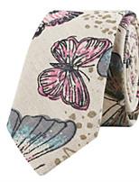 cheap -Men's Cotton Necktie - Print
