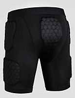 cheap -Men's Running Tight Shorts Stretchy Shorts Basketball Outdoor Exercise Other Black S M L XL