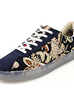 cheap -Men's Shoes PU Winter Fall Comfort Sneakers for Casual Outdoor Beige Red Blue