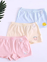 cheap -Girls' Solid All Seasons Underwear, Cotton Stretchy Cute Blushing Pink