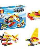 cheap -Building Blocks Plane Fighter Toys Race Car Military Stress and Anxiety Relief Hand-made Creative DIY ABS Boys' Girls' Pieces