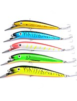 "cheap -5 pcs Pastry Tube Fishing Lures Minnow Hard Bait g / Ounce, 200 mm / 8-1/4"" inch, Plastic Sea Fishing Trolling & Boat Fishing Lure Fishing"