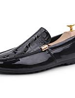abordables -Homme Chaussures Polyuréthane Printemps Automne Confort Mocassins et Chaussons+D6148 pour De plein air Blanc Noir Rouge