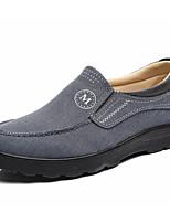 economico -Per uomo Scarpe Tessuto Primavera Autunno Scarpe da immersione Sneakers per Casual Grigio Caffè