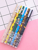 cheap -Gel Pen Pen Gel Pens Pen,Plastics Multi-Color Ink Colors For School Supplies Office Supplies Pack of 6