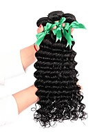 cheap -Brazilian Deep Wave Human Hair Weaves 3 Pieces 0.15