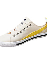 cheap -Men's Shoes Synthetic Microfiber PU Spring Fall Comfort Sneakers for Casual White Black Yellow
